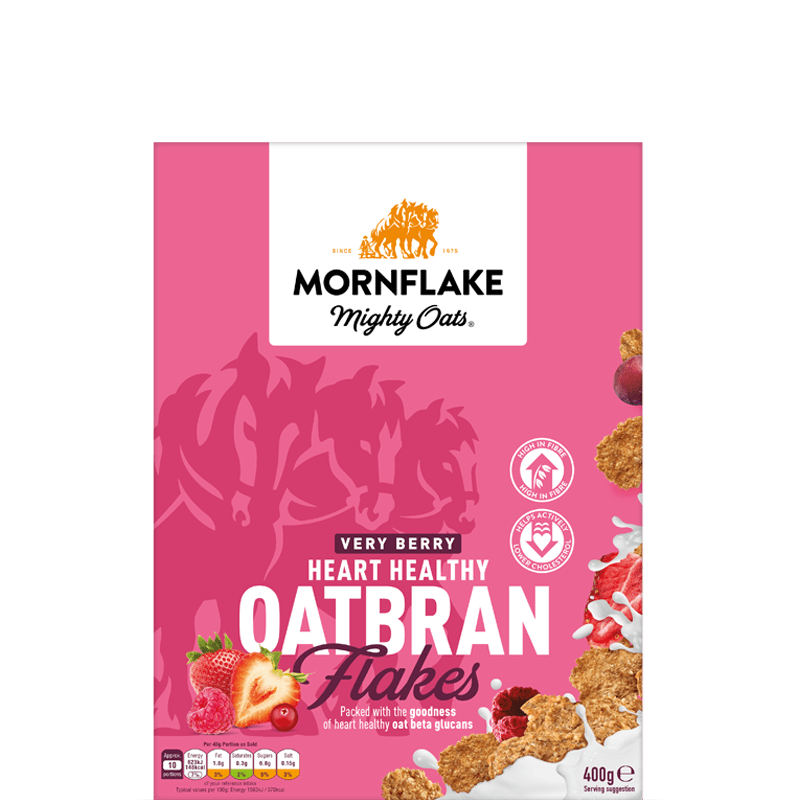 Very Berry Heart Healthy Oatbran Flakes