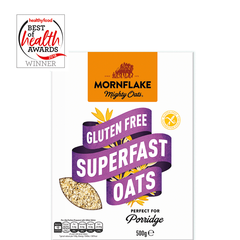 Gluten Free Superfast Oats