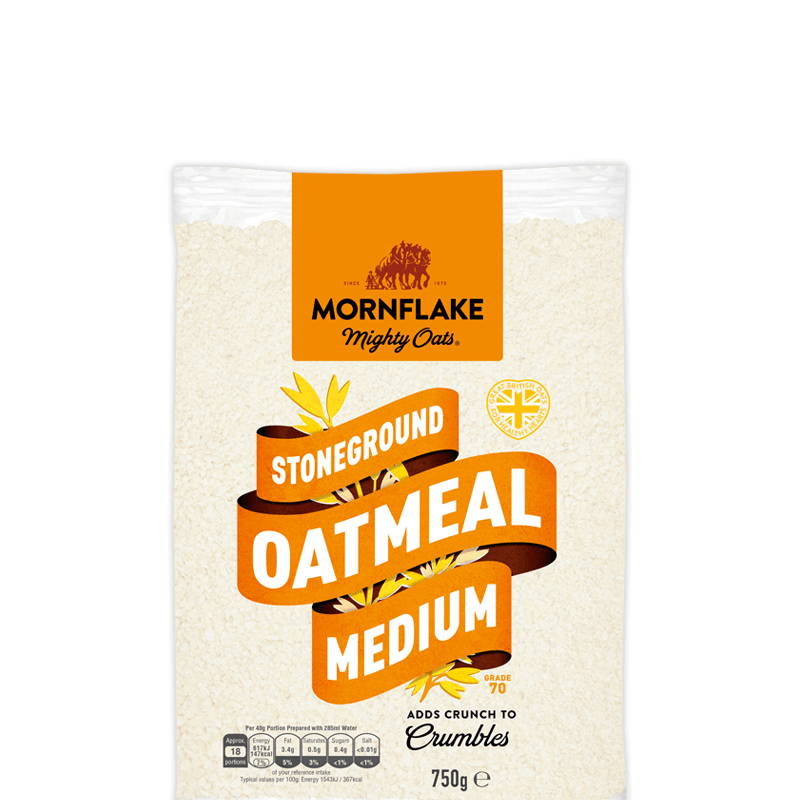 Stoneground Oatmeal Medium (Grade 70)