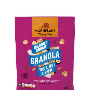 No Added Sugar Granola Fruit, Nut & Seed