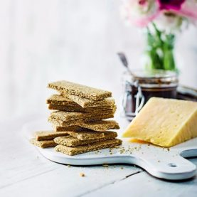 Cheesy Oat Biscuits