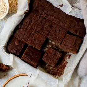 Aubergine Brownies