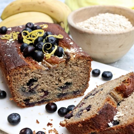 Blueberry, Banana and Lemon Loaf