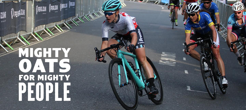 Jen George, Cyclist
