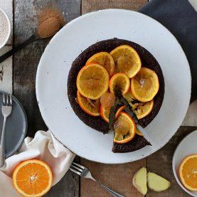 Ginger & Orange Cake