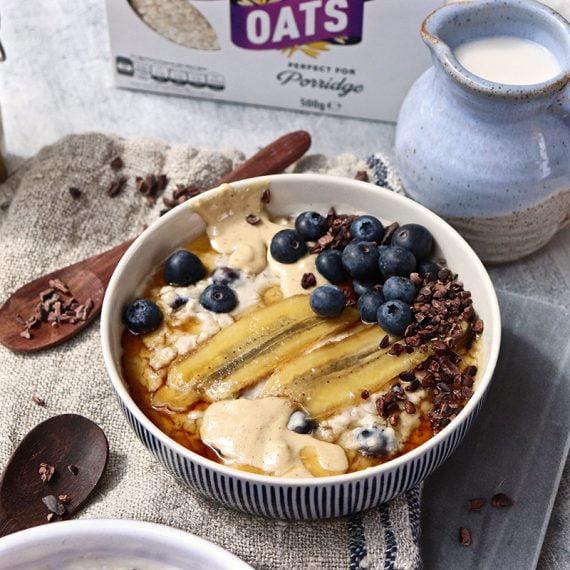 Blueberry and Banana Porridge
