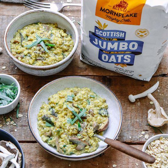 Mushroom & Tarragon Savoury Porridge