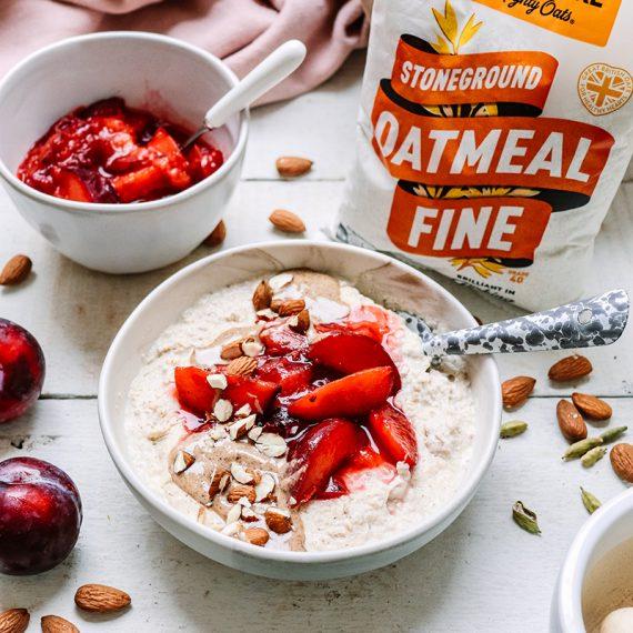 Plum & Cardamom Porridge