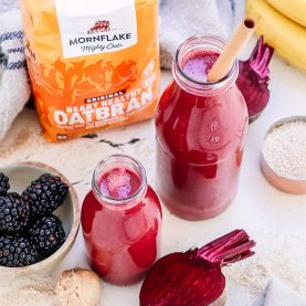 Beetroot and Blackberry Smoothie