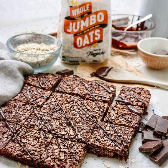 Winning Recipe: Easy Chocolate Flapjack