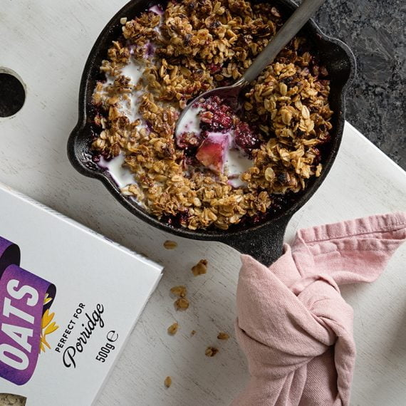 Oat Berry Crumble