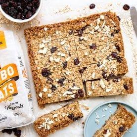 Winning Recipe: White Chocolate & Cranberry Flapjack