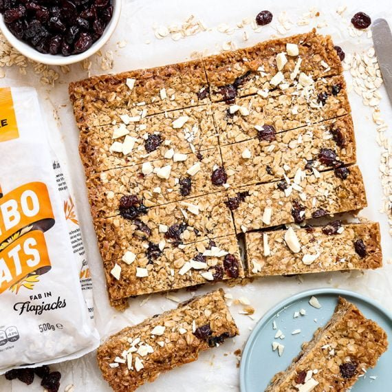 Winning Recipe: White Chocolate & Cranberry Flapjack