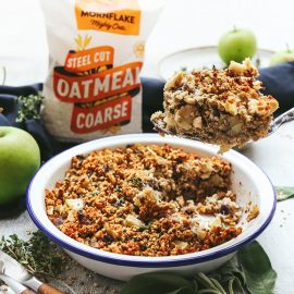 Chestnut, Parsnip & Sage Oatmeal Stuffing