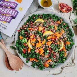 Roasted Squash & Lentil Salad
