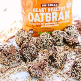 Chocolate Oatbran Truffles
