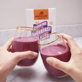 Chocolate Berry Protein Smoothie