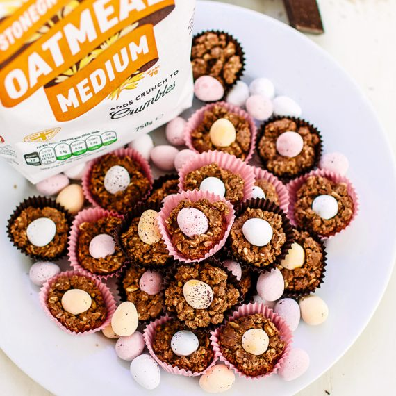 Chocolate Oatmeal Nests
