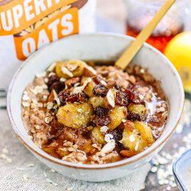 Hot Cross Bun Porridge