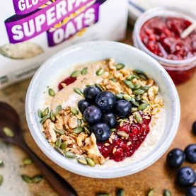 Superfood Berry Porridge