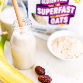 Banana & Vanilla Oat Smoothie