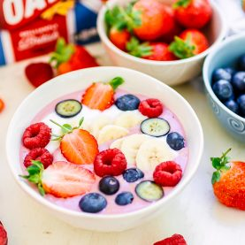 Red, White & Blue Smoothie Bowl