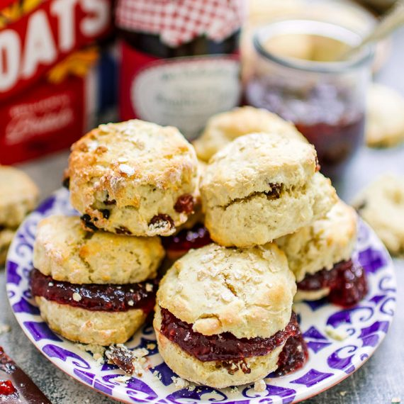 Mini Oat Scones