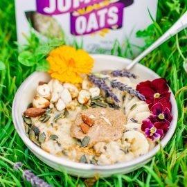 Oat Milk Seeded Porridge