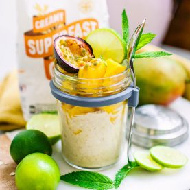 Mango & Passion Fruit Overnight Oats