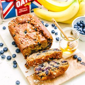 Banana, Honey & Blueberry Bread
