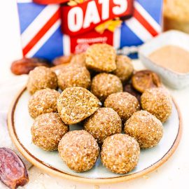 Fig and Almond Energy Oat Balls