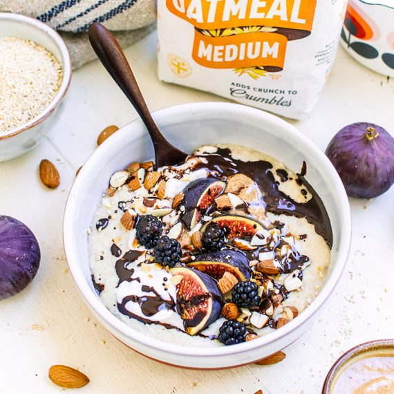 Vanilla Oatmeal Porridge
