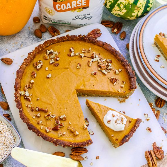 Pumpkin Oat Pie