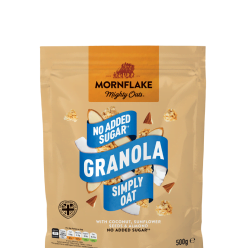 No Added Sugar Granola Simply Oat