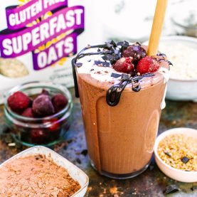 Black Forest Oat Smoothie