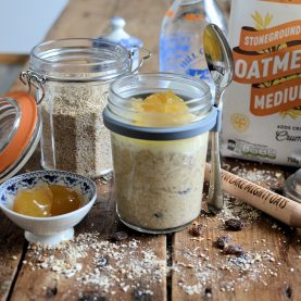 Gingerbread oatmeal porridge