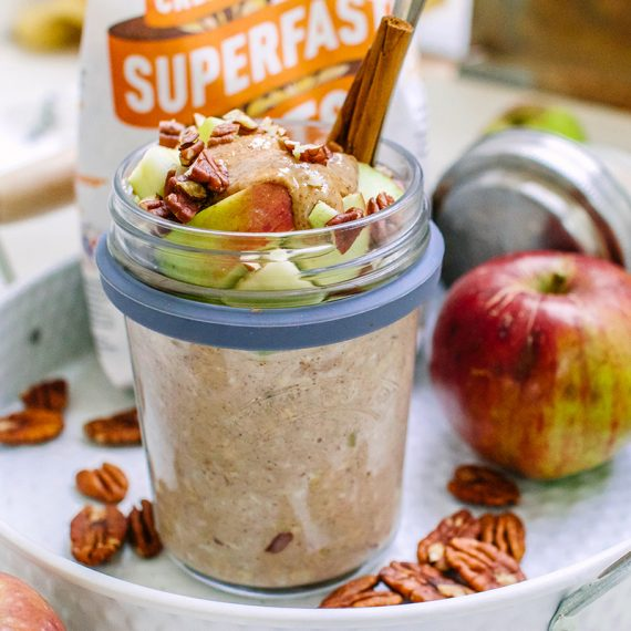 Apple & Cinnamon Overnight Oats