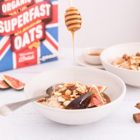 Cinnamon Apple Fig Bircher Muesli