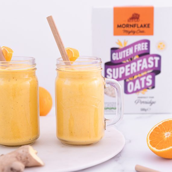 Orange Turmeric Ginger Smoothie