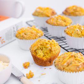 Turmeric Chia Muffins