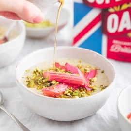 Rhubarb and Ginger Porridge