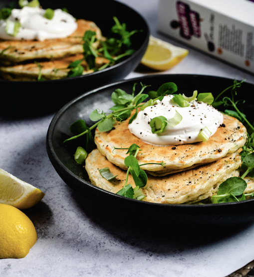 Courgette Pancakes