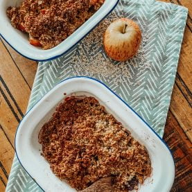 Oaty Apple and Pear Crumble