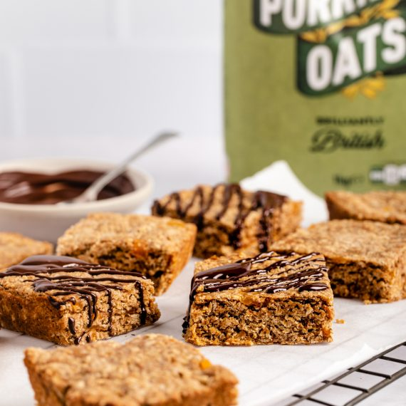 Apricot Almond Butter Bars