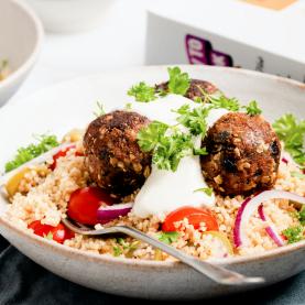 Greek 'Meatball' Salad