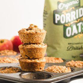 Apple Cinnamon Baked Oatmeal Cups