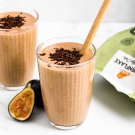 Fig Almond Butter Smoothie