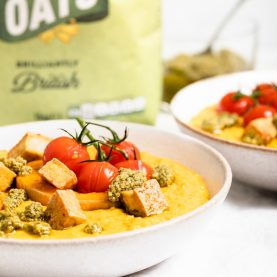 Pumpkin Carrot Sage Oats