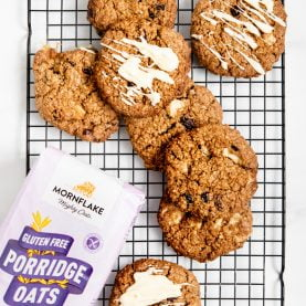 White Chocolate Cranberry Oat Cookies
