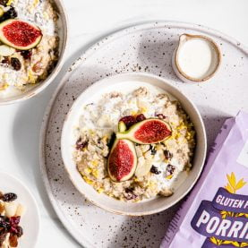 Mince Pie Overnight Oats